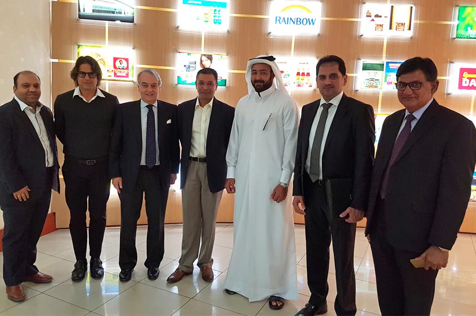 Alifood and Qatari Group