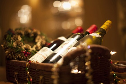 Italian christmass wines and meal