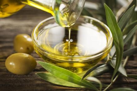 pressing olive oil in Italy