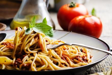 Italian pasta sauces