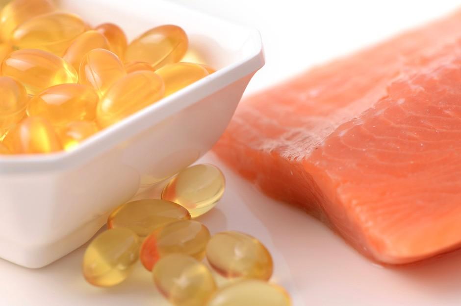 seafood and omega 3 oil