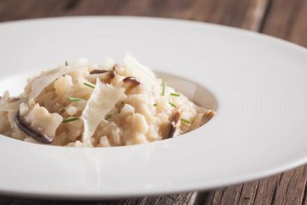 italian rice or risotto