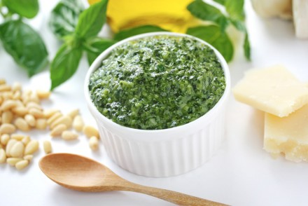 pesto sauce protection