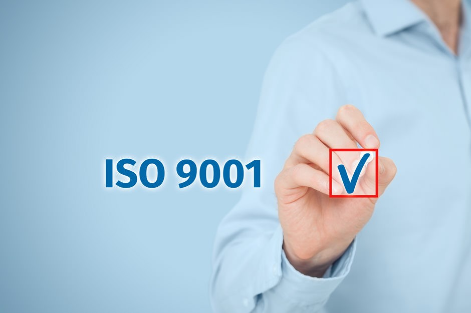 iso 9001 certification for food company