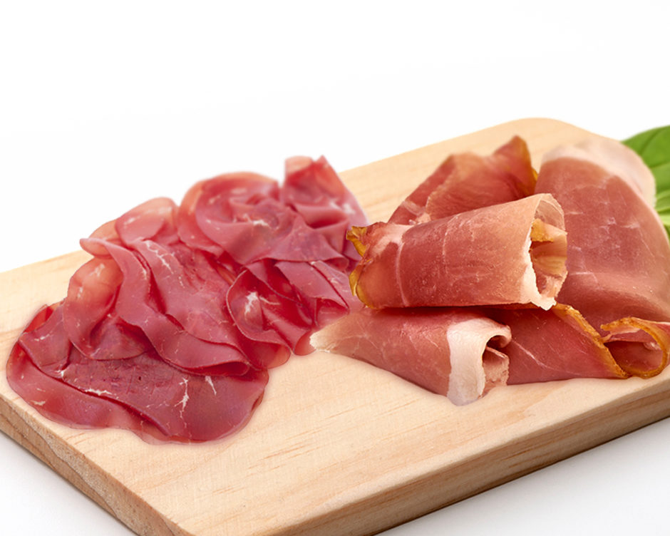 SO SIMILAR YET SO DIFFERENT: LEARN MORE ABOUT PROSCIUTTO AND BRESAOLA