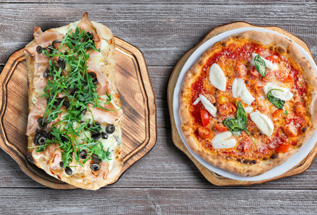 PIZZA AND PINSA: SO SIMILAR, YET SO DIFFERENT